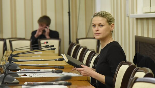 Председатель комитета Госсовета Крыма по имущественным и земельным отношениям Евгения Добрыня