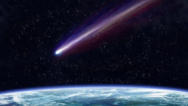 Комета около Земли. Архивное фото