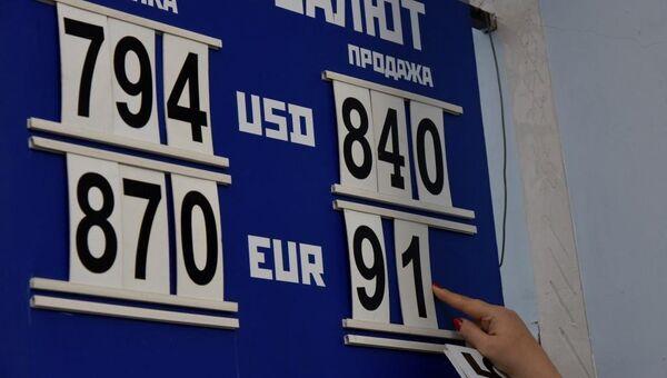 Курс валют в Симферополе