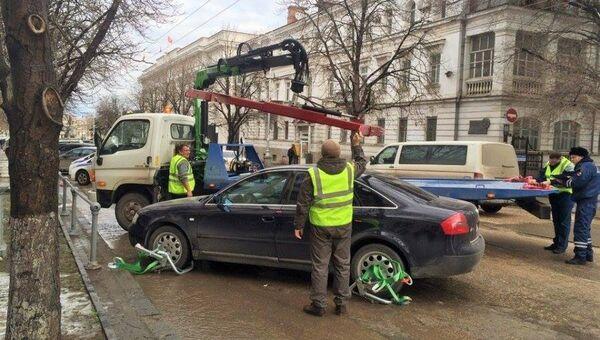 Эвакуация автомобилей в Севастополе