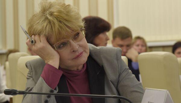 Уполномоченный по правам человека в Крыму Людмила Лубина