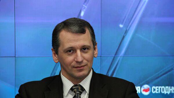 Глава партии переселенцев и мигрантов Германии Единство (EINHEIT) Дмитрий Ремпель