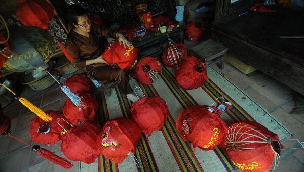 Изготовление фонариков к восточному Новому году