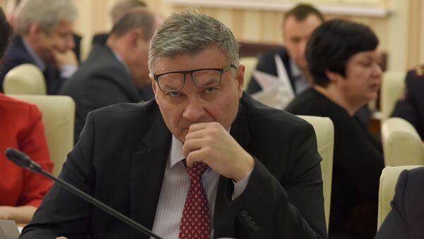 Министр жилищно-коммунального хозяйства Республики Крым Александр Жданов
