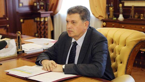 Министр сельского хозяйства Крыма Андрей Григоренко