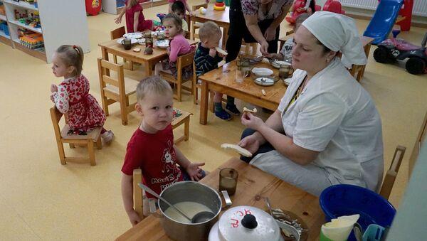 Работа детского сада