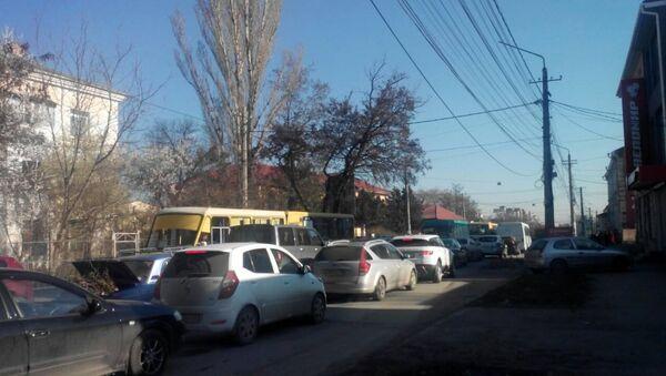 Пробки в Симферополе 16 марта 2016 года