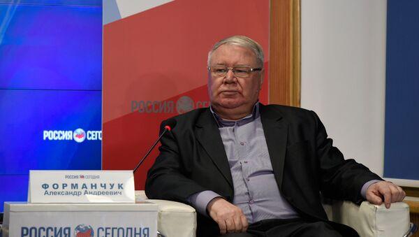 Заместитель председателя Экспертно-консультативного совета при главе Республики Крым Александр Форманчук