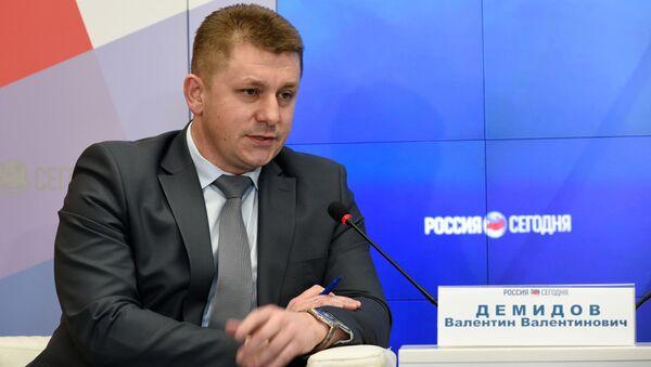 Министр экономического развития Республики Крым Валентин Демидов