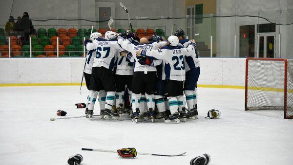 Крымский дивизион Ночной хоккейной лиги (НХЛ). Матч в категории 40+ между Адмиралом (Севастополь) и Легионом (Симферополь)