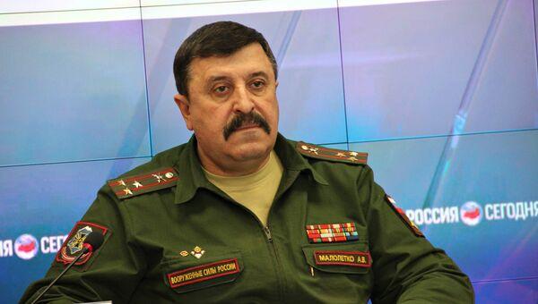 Военный комиссар Республики Крым Анатолий Малолетко