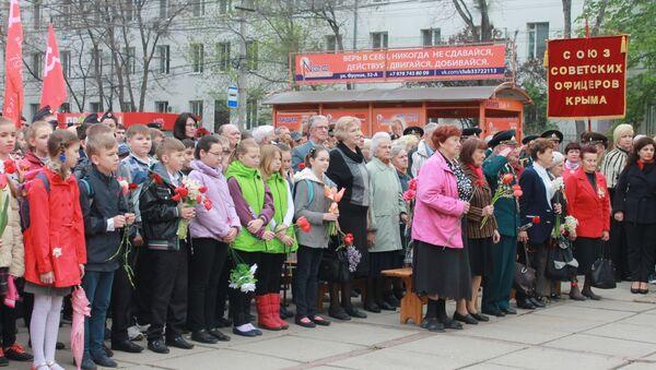 Симферополь отмечает 72-ую годовщину со Дня освобождения