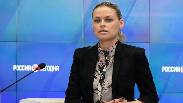 Председатель комитета Госсовета РК по имущественным и земельным отношениям Евгения Добрыня
