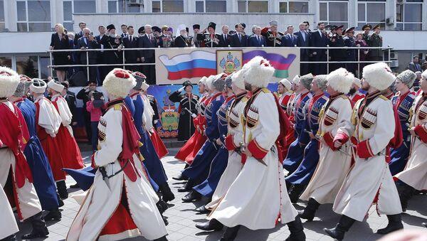 В Краснодаре прошли торжественные мероприятия. посвященные 25-й годовщине принятия закона РФ О реабилитации репрессированных народов