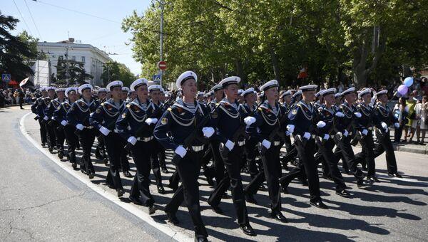 Парад Победы в Севастополе, посвященный 71-й годовщине Победы в Великой Отечественной войне 1941-1945 гг.