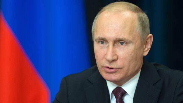 Президент РФ В. Путин провел совещание по вопросам энергообеспечения Крыма