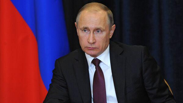Президент РФ В. Путин провел совещание по вопросам ликвидации последствий природных пожаров
