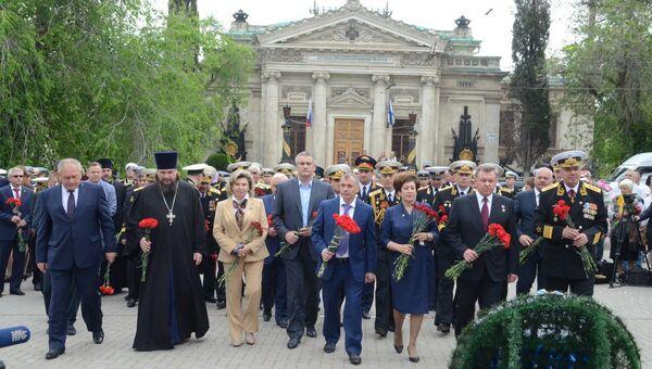 В Севастополе отметили 233-ю годовщину основания Черноморского флота