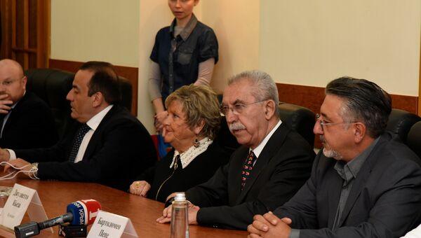 Визит итальянских парламентариев в Крым