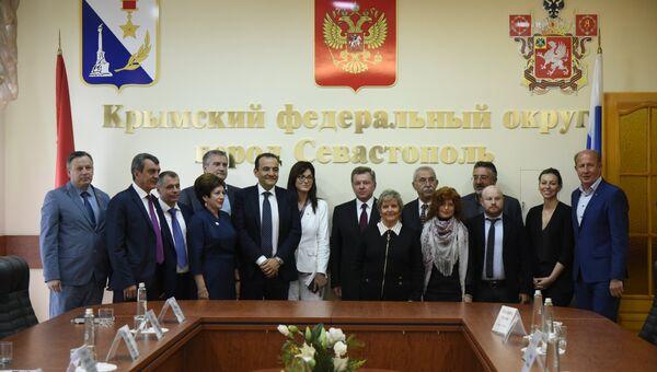Визит итальянских парламентариев в Крымский федеральный округ