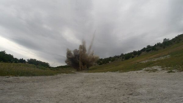 Обезвреживание снарядов Великой Отечественной войны в Севастополе