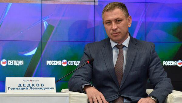 Генеральный директор ООО Морская дирекция Геннадий Дедков