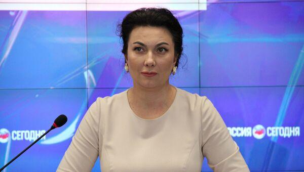 Министр культуры Республики Крым Арина Новосельская