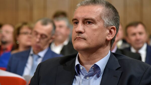 Глава Республики Крым Сергей Аксенов на сессии Госсовета РК