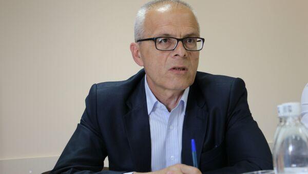 Первый заместитель главы администрации Симферополя Сергей Круцюк
