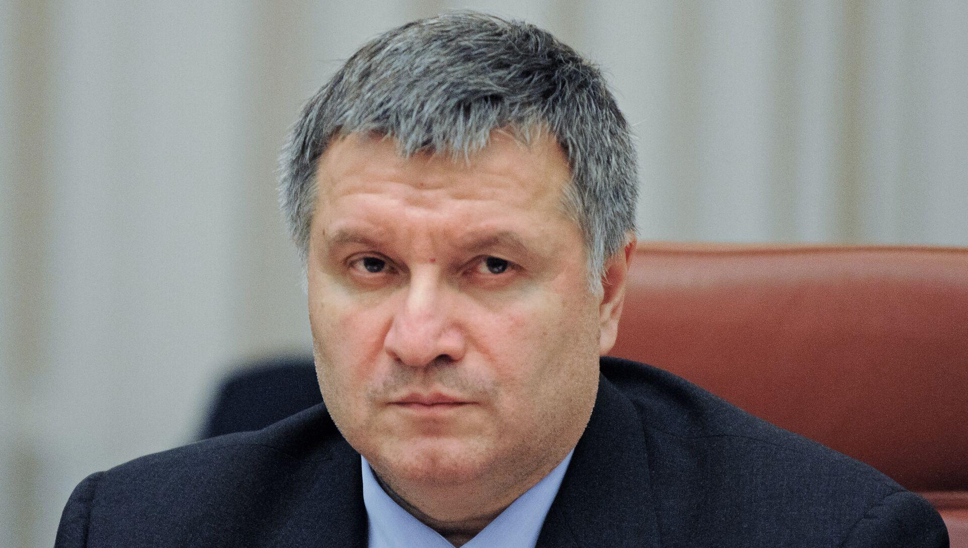 Министр внутрених дел Украины Арсен Аваков - РИА Новости, 1920, 13.07.2021