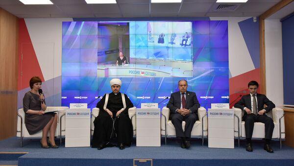Пресс-конференция Итоги всероссийского совещания по проблемам паломничества мусульман РФ