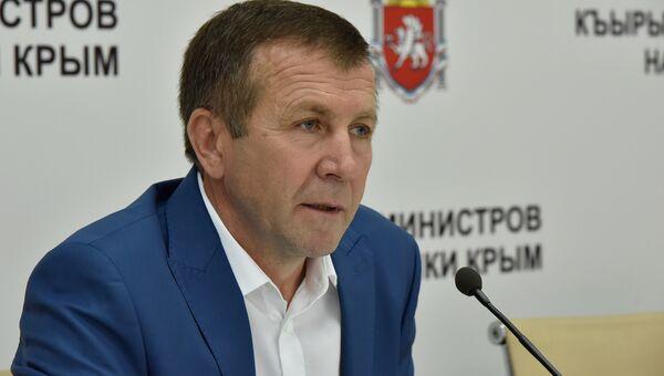 Министр экологии и природных ресурсов РК Геннадий Нараев
