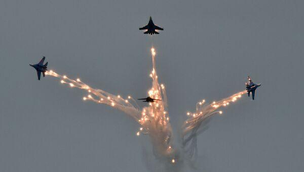 Всероссийские соревнования летчиков Авиадартс-2016 на полигоне Чауда под Феодосией