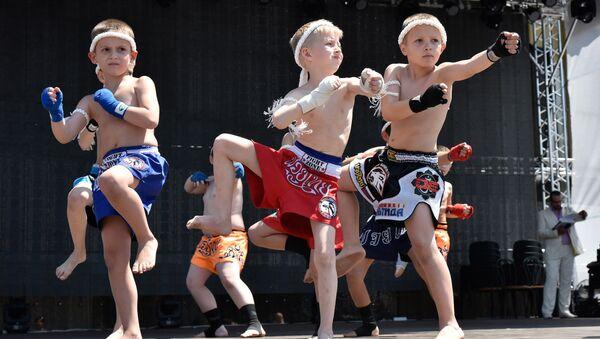 Фестиваль Традиционные боевые искусства для здоровья нации в честь 232-летия Симферополя