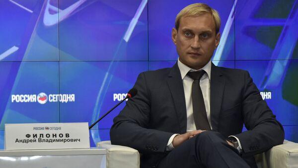 Глава администрации города Евпатория Андрей Филонов