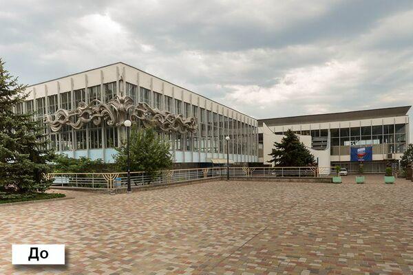 Дворцовая площадь до реконструкции