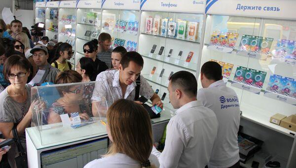 В Крыму стартовали продажи нового мобильного оператора