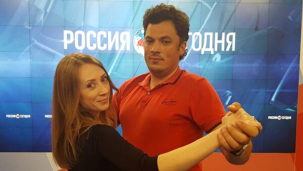 Наталья Минина и Александр Полегенько