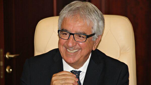 Итальянский бизнесмен и президент компании E-Platform Джованни Скачаферро