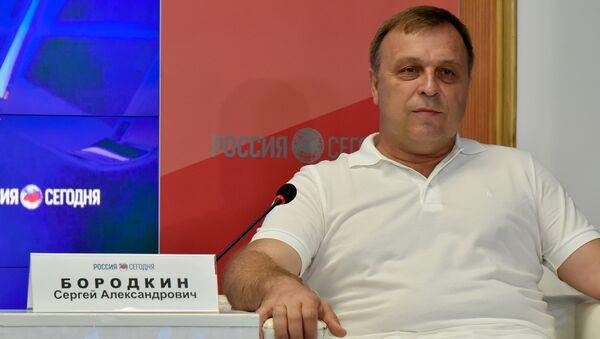 Председатель Республиканской федерации футбола Крыма Сергей Бородкин