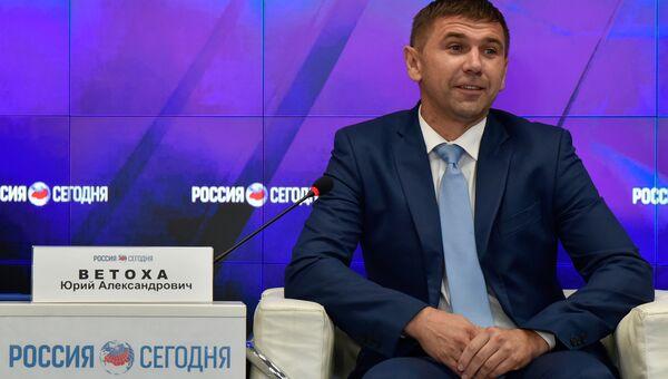 Президент Крымского футбольного союза Юрий Ветоха