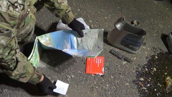 """Допрос агента """"Юзефа"""" и обыск машины крымских диверсантов. Оперативная съемка"""