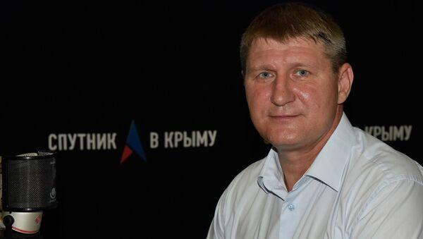 Первый вице-премьер Республики Крым Михаил Шеремет