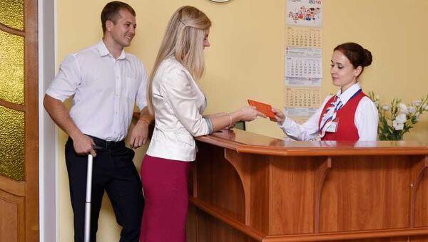 Открытие зала для официальных лиц и делегаций в международном аэропорту Симферополь