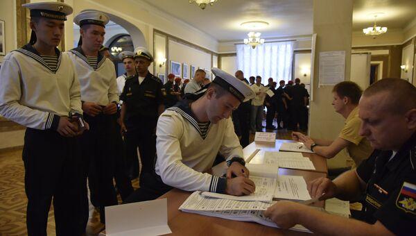 Голосование на выборах в Госдуму РФ, Севастополь