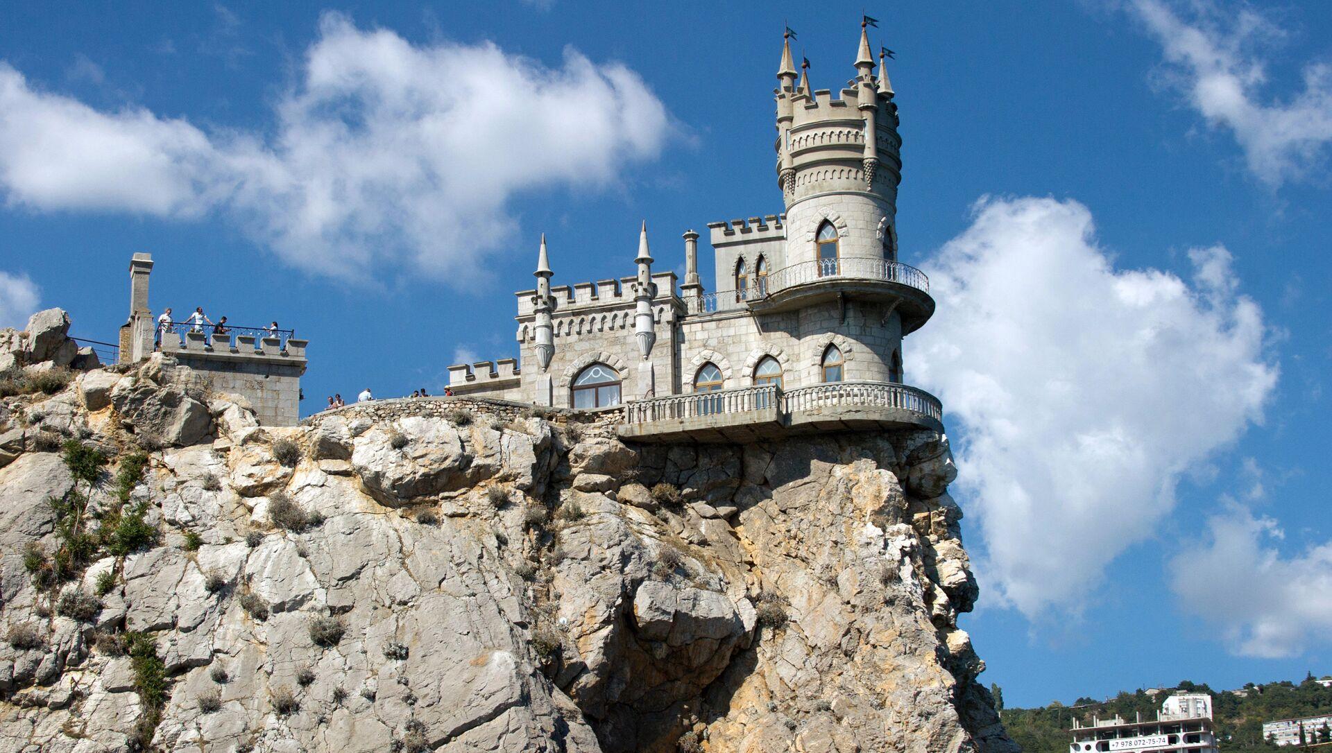 Замок Ласточкино гнездо в Крыму - РИА Новости, 1920, 19.02.2018