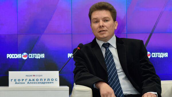 Заместитель директора Морского гидрофизического института РАН Антон Георга-Копулос