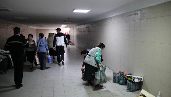 Рейд по местам стихийной торговли в Симферополе