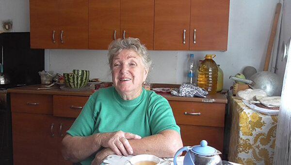 Алла Гирина (Кузнецова), жительница Санкт-Петербургских Мазанок