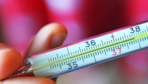 Ртутный градусник для измерения температуры